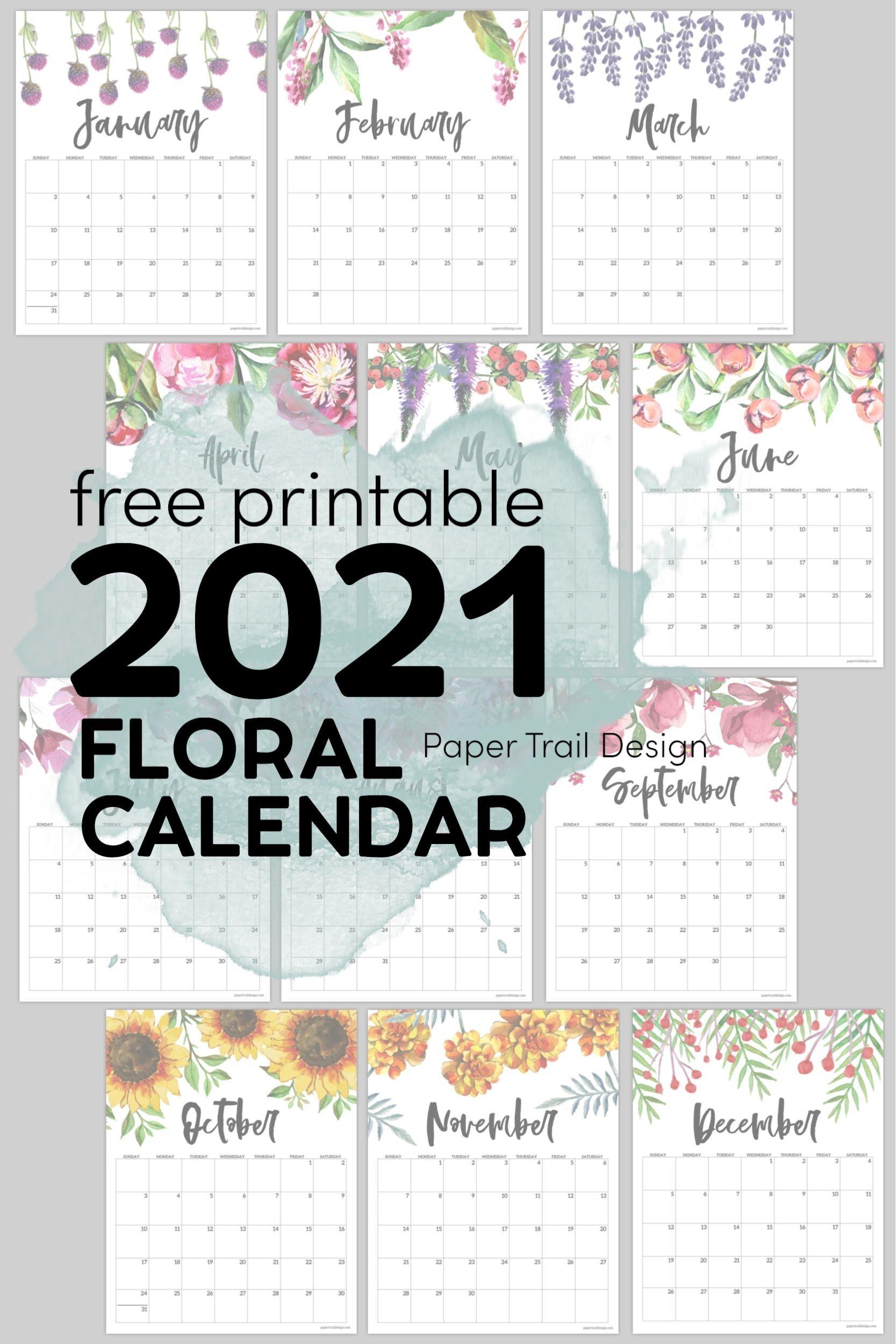 Pin On Calendars-4X6 Free Printables 2021 Calendars