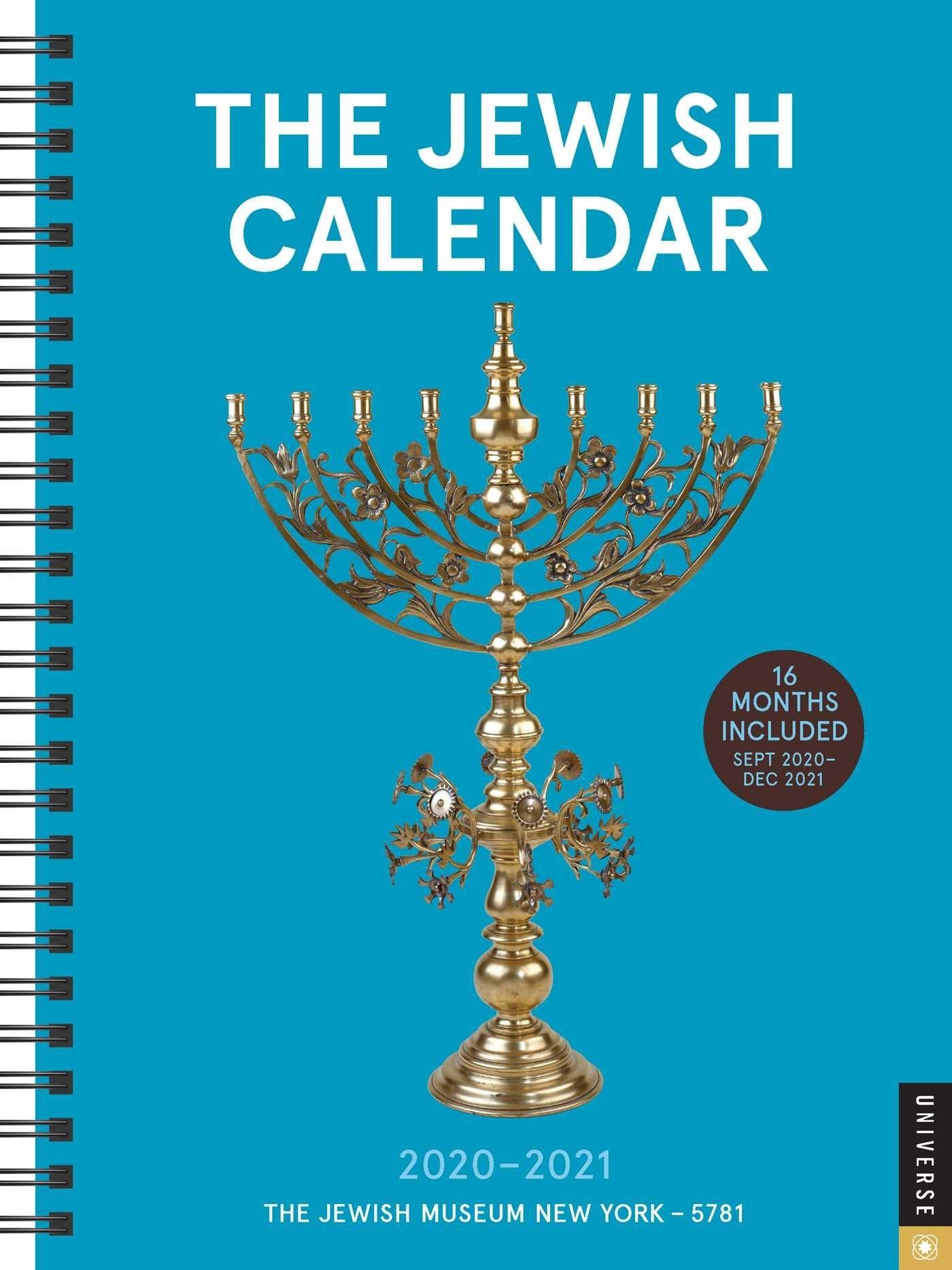 The Jewish Calendar 16-Month 2020-2021 Engagement Calendar-Jewish Calendar May 2021