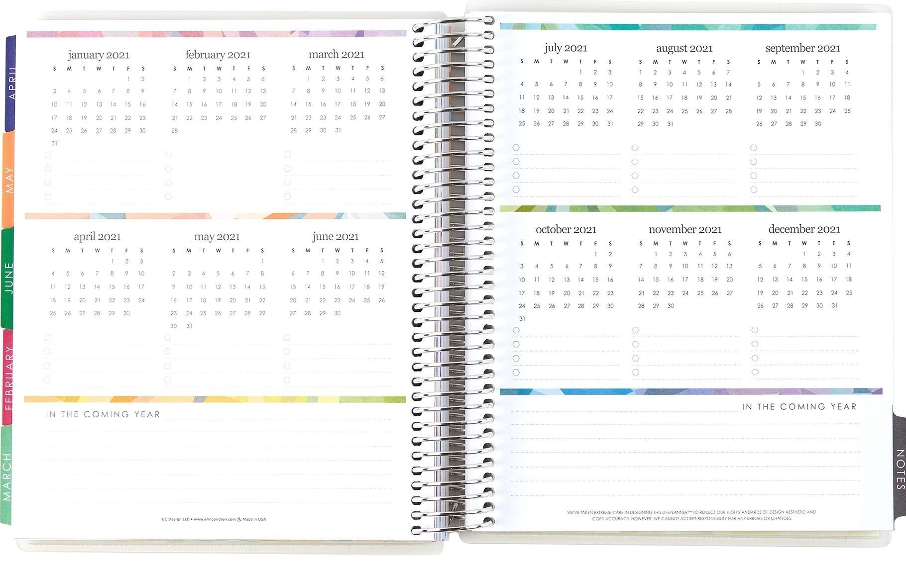 Universal 81/2 X 11 Calenar Pages | Monthly Calendar-Printable 2021 Weekly Monthly 81/2 X 11