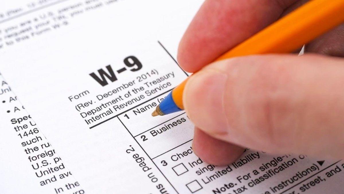W9 Forms 2020 Printable-For W 9 2021 Printable