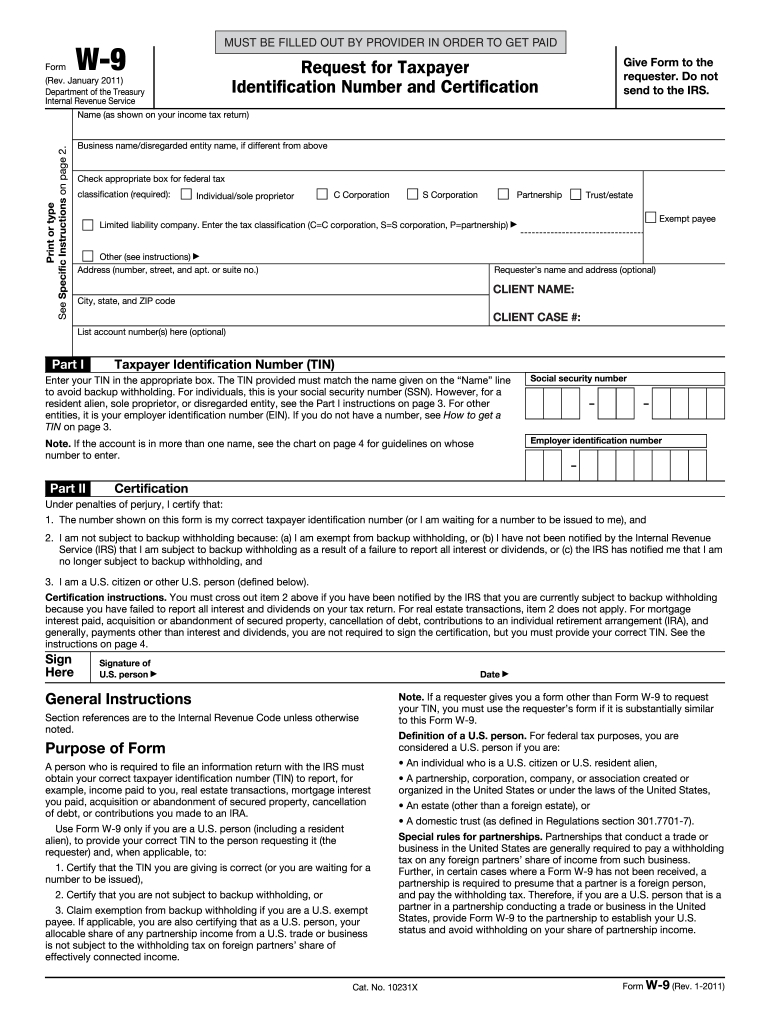 W9 Template - Fill Out And Sign Printable Pdf Template | Signnow-For W 9 2021 Printable