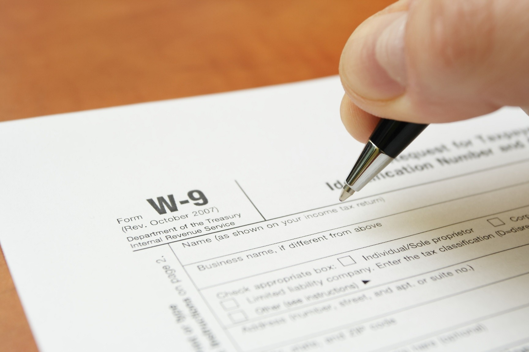 What Is A W-9 Tax Form?   H&R Block-Downloadable W 9 Form 2021