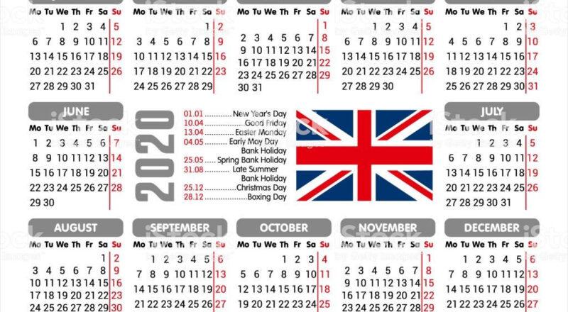 20+ Calendar 2021 Uk With Bank Holidays - Free Download-2021 Uk Calendar With Bank Holidays