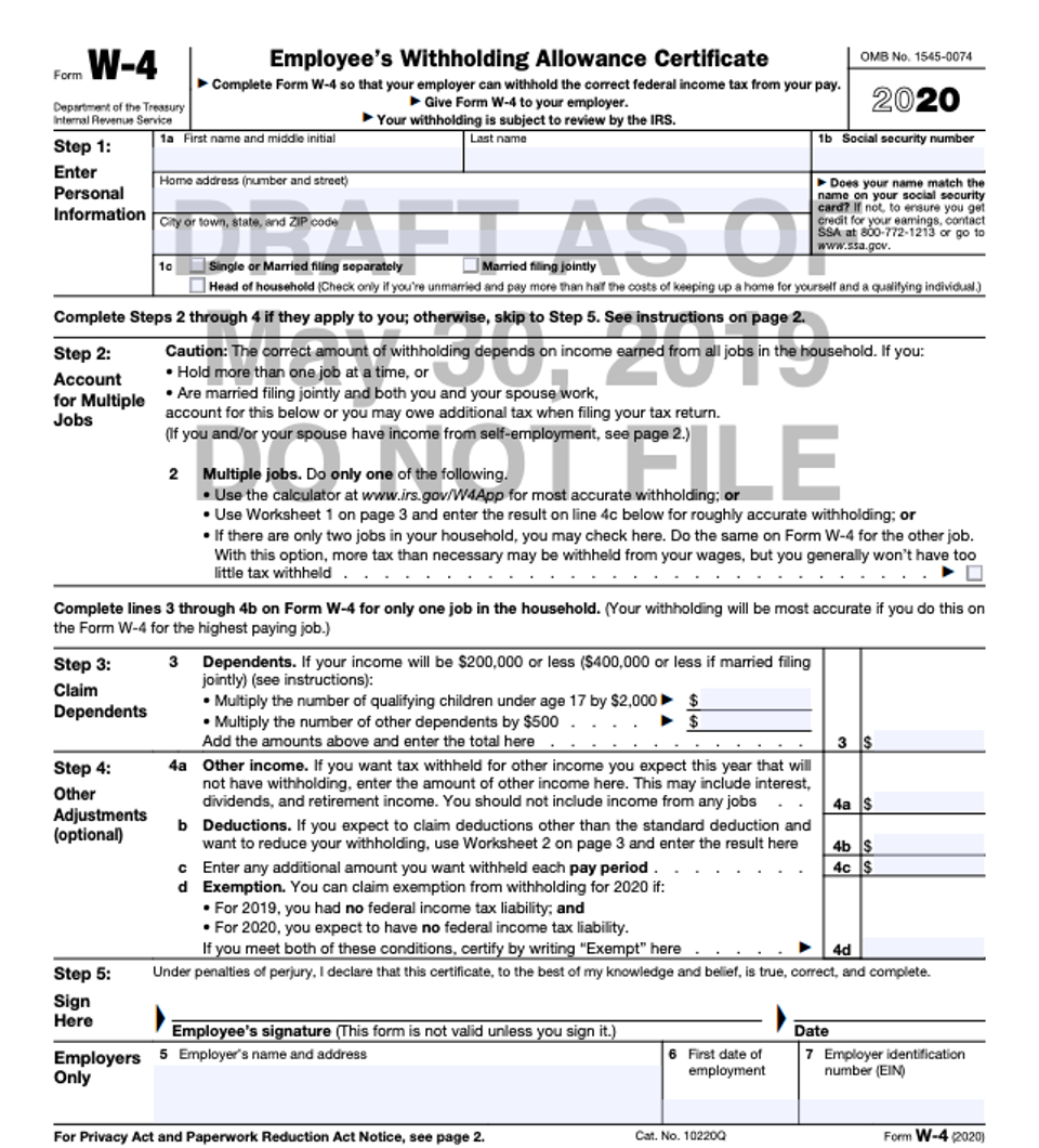 2020 W-9 Form Printable Pdf   Example Calendar Printable-Blank W9 Form For 2021