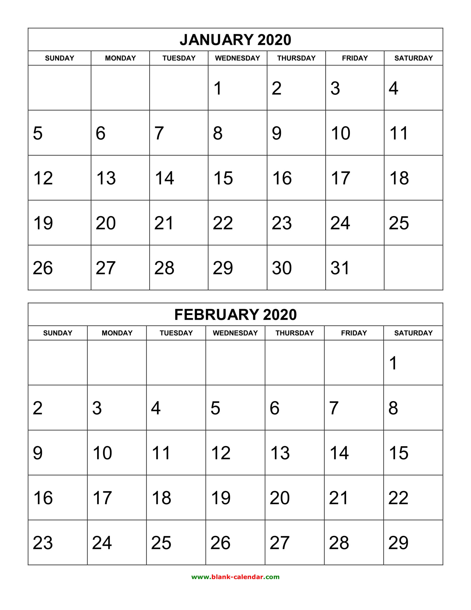 2021 Calendar 2 Months Per Page   Printable March-2021 Two Page Monthly Calendar Printable