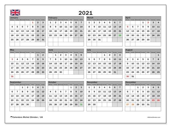 2021 Calendar Uk Bank Holidays | Qualads-2021 Uk Calendar With Bank Holidays