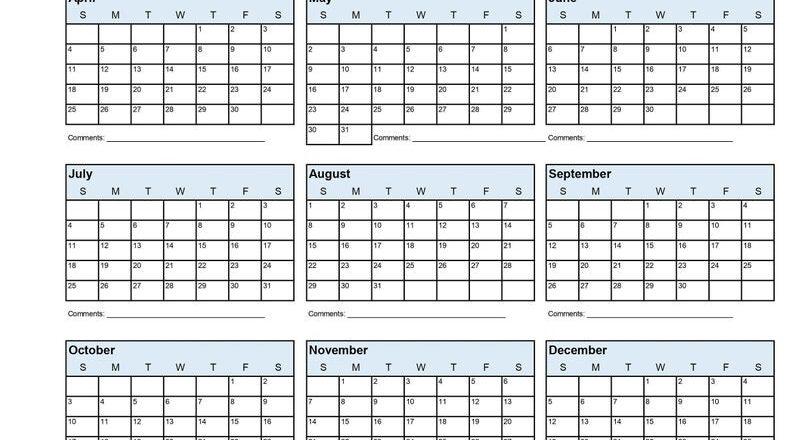 2021 Employee School Attendance Tracker Calendar Employee-Employee Vacation Planner 2021 Printable