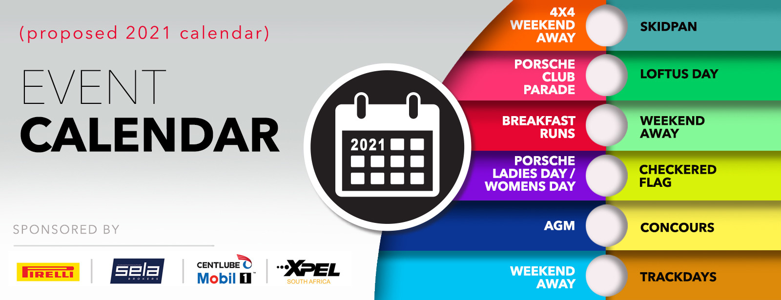 2021 Events Calendar - Events Calendar - Central Region-2021 Calendar South Africa