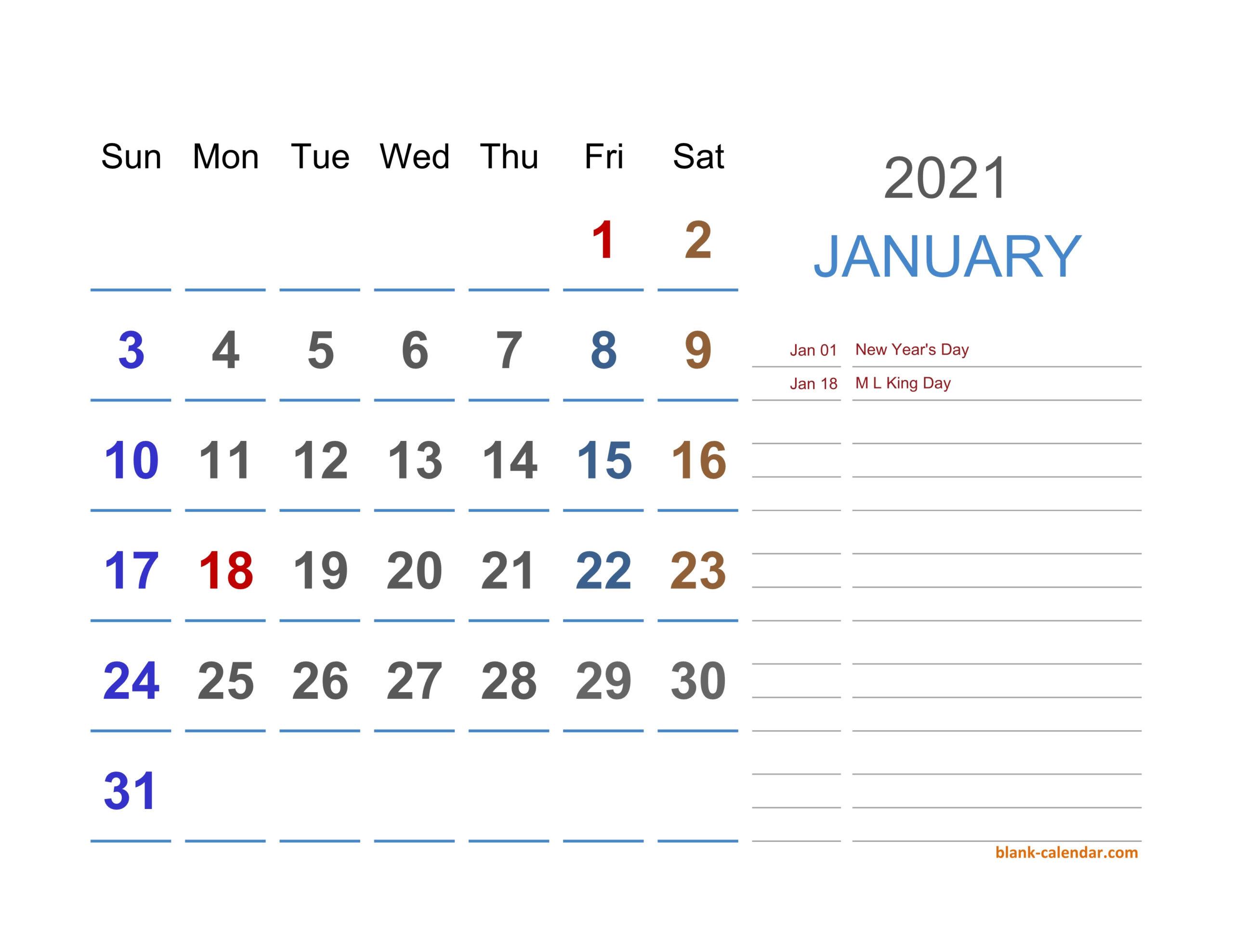 2021 Excel Calendar   Free Download Excel Calendar Templates-Excel 2021 Calendar Vertical List
