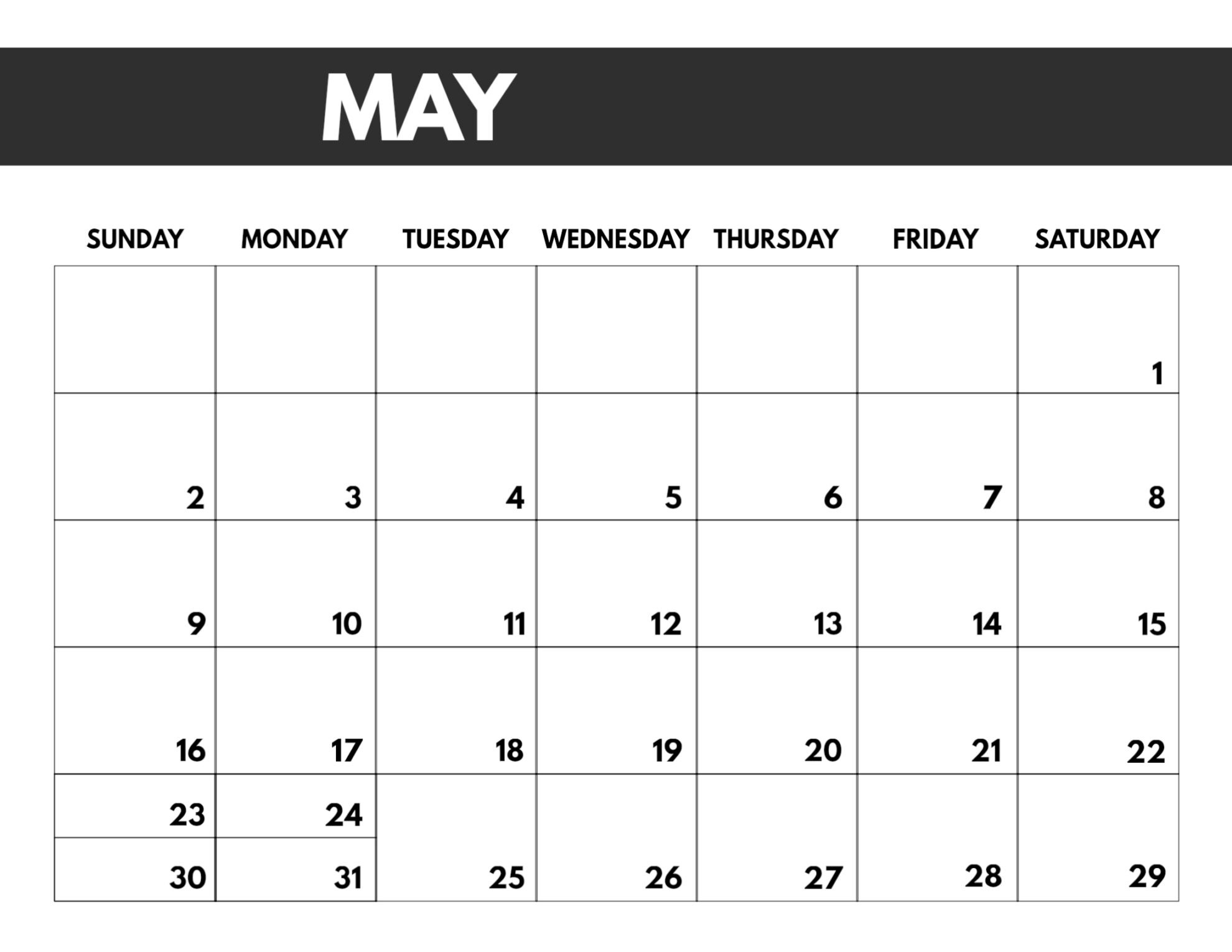 2021 Free Monthly Calendar Templates Paper Trail Design-3 Month Printable Calendar Templates 2021