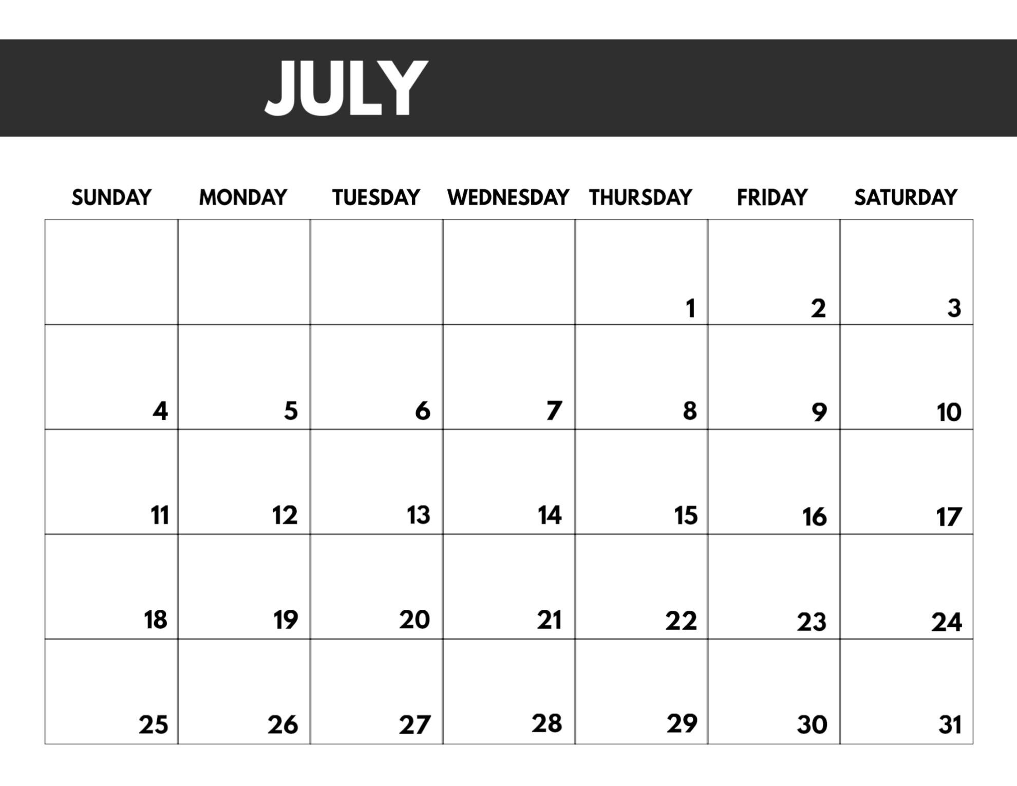 2021 Free Monthly Calendar Templates   Paper Trail Design-Free Printable Calendar 2021 4 Months Per Page May August