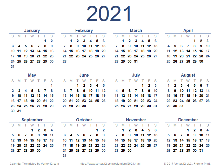 2021 Google Sheets Calendar-3 Month Printable Calendar Templates 2021