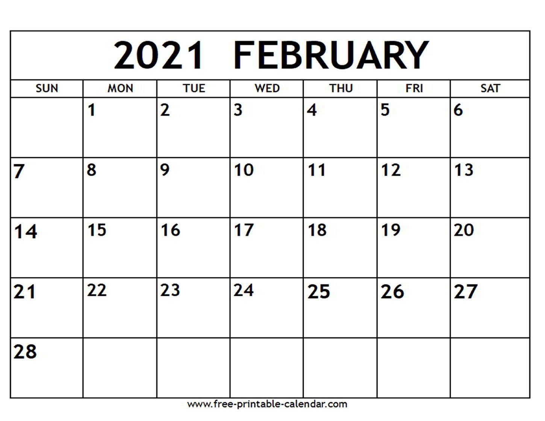 2021 Printable Calendar Free | Free Printable Calendar-2021 Calendar Fillable