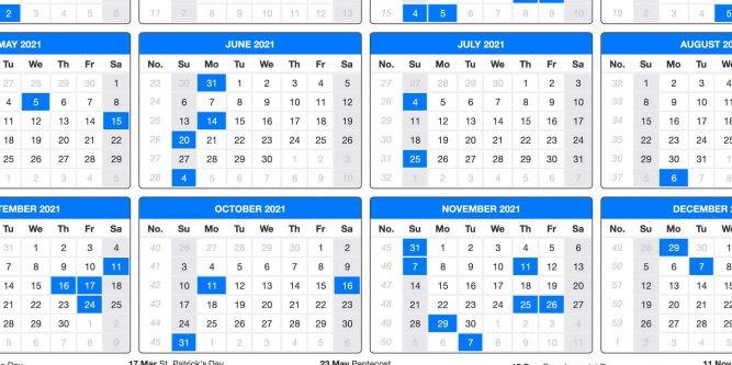 2021 Printable Us Calendar With Holidays | 2021 Printable-Printable Calendar 2021 With Major Holidays