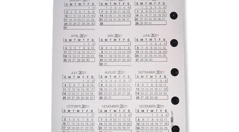 2021 Printed Bill Tracker Lined Notes Calendar 2021 | Etsy-Bill Calendar 2021