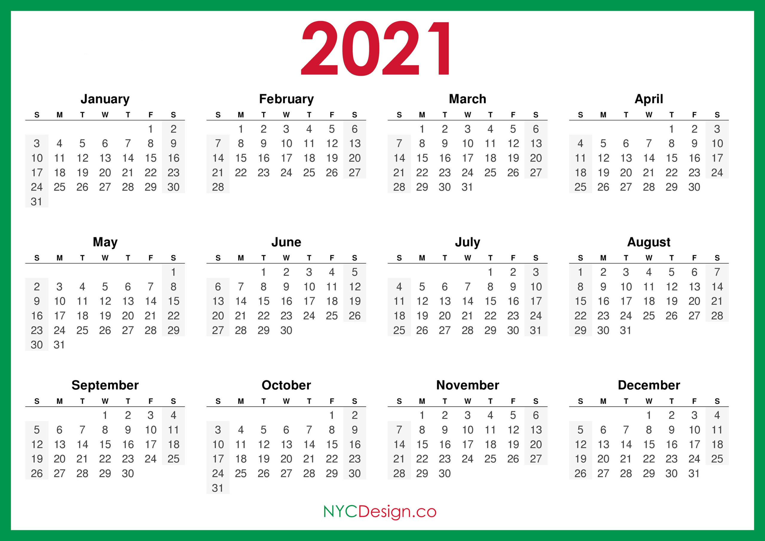 2021 Sunday Calendar   Printable March-Fillable Calendar 2021-2021 Year