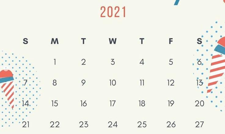 2021 Wall Calendar Monthly Printable Templates | Calendar-Monthly Calendar 2021 For Wallpaper