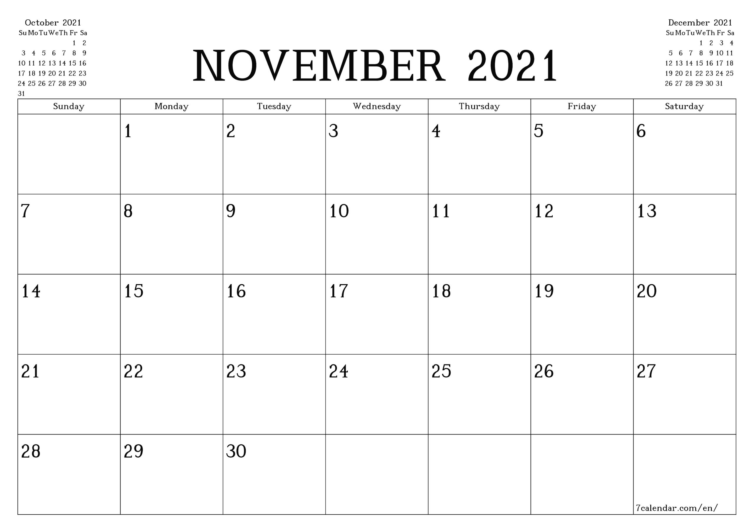 5 X 7 Printable Calendar 2021 6 Months   Printable-Printable 81/2 X 11 January 2021 Calendar