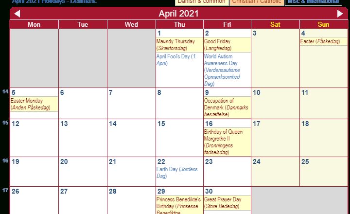 April 2021 Calendar Wincalendar | Printable March-Jewish Calendar 2021/2021