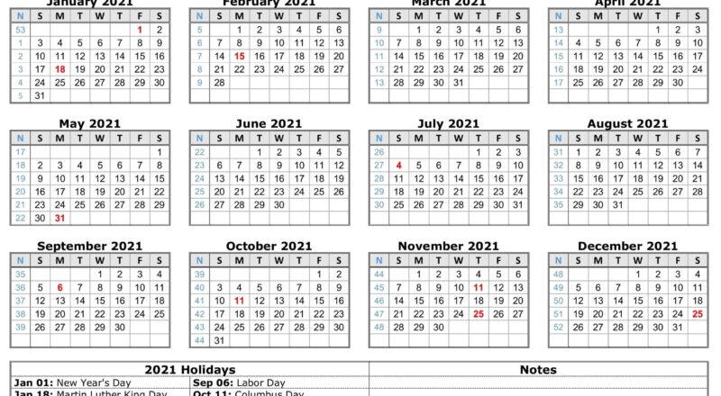 Blank 2021 Calendar Printable   Calendar 2021-12 Month Calendar 2021 Printable