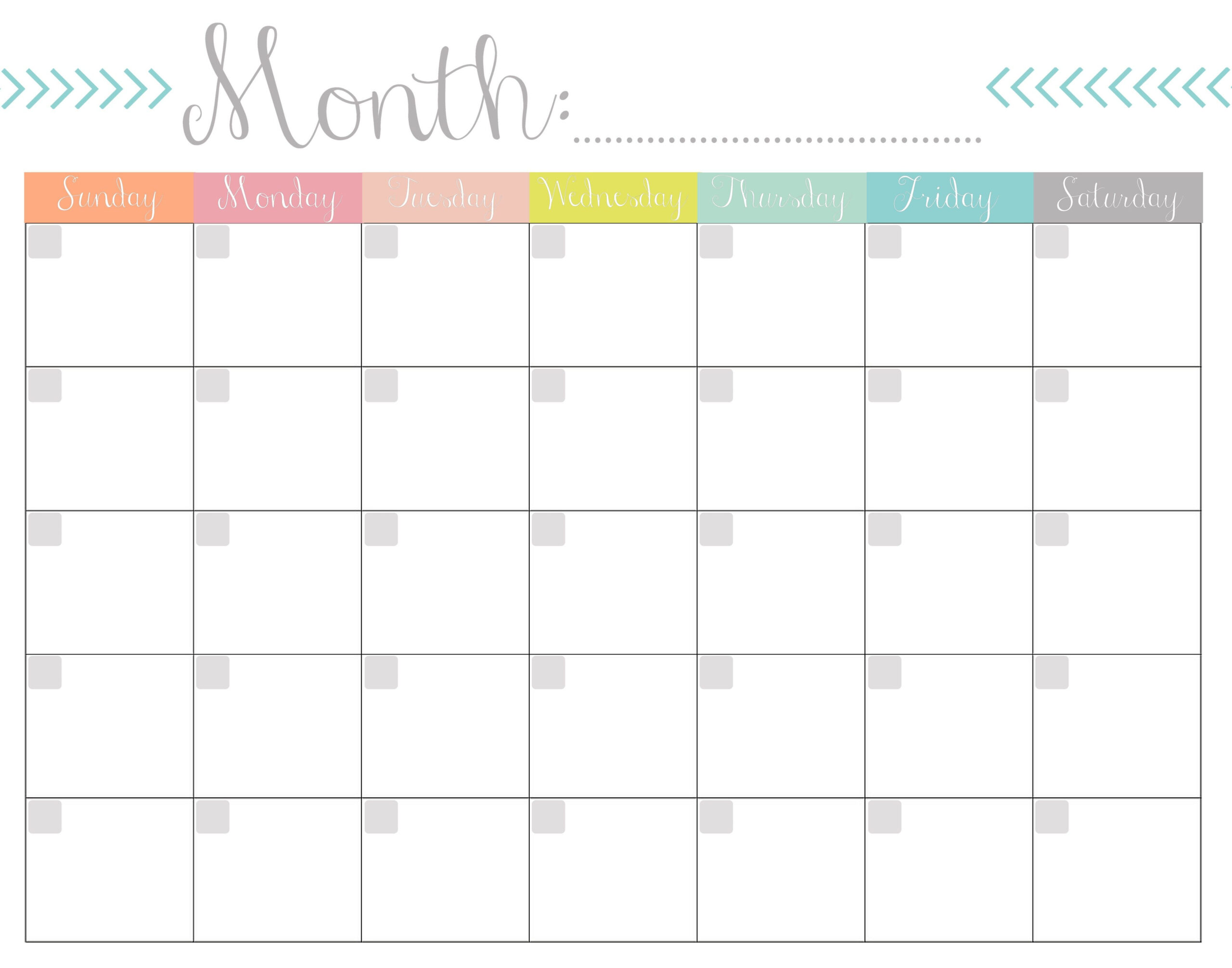 Blank Calendar 2020 Printable Monthly Payday Bills And Due-Printable Bill Payment Calendar 2021