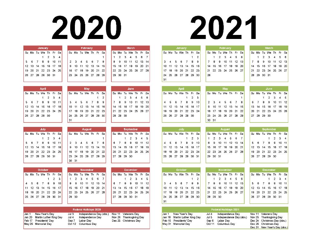 Calendar Pdf 2021-Fillable Calendar 2021-2021 Year