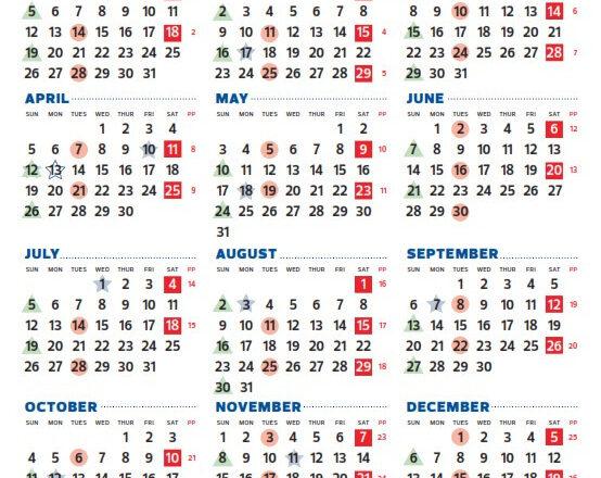 City Of Edmonton Pay Period Calendar 2021   2021 Pay-2021 Payroll Calendar Semi Monthly