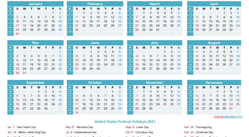Editable Calendar Template 2021 - Template No.ep21Y12-2021 Calendar Template