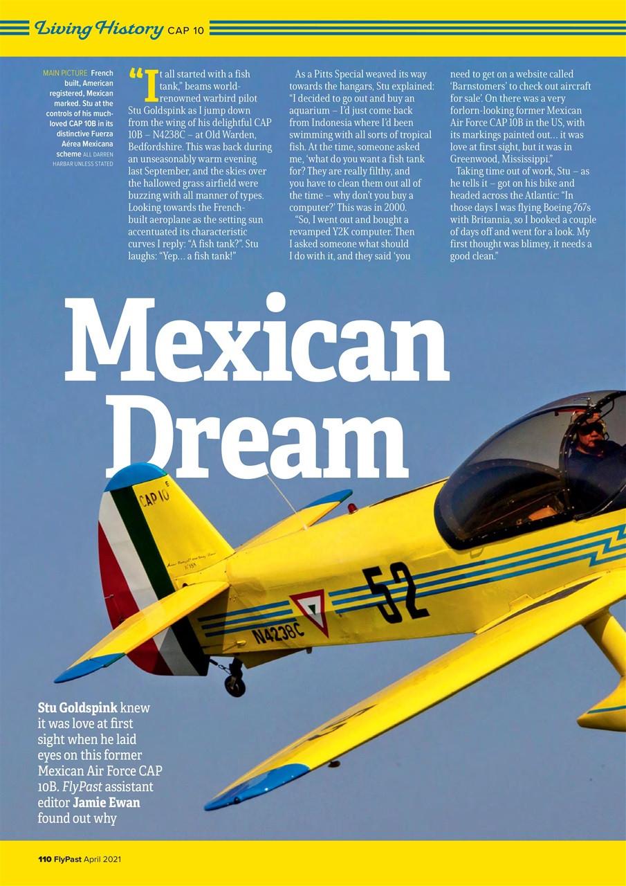 Flypast Magazine - April 2021 Subscriptions   Pocketmags-April 2021 Bill Payment
