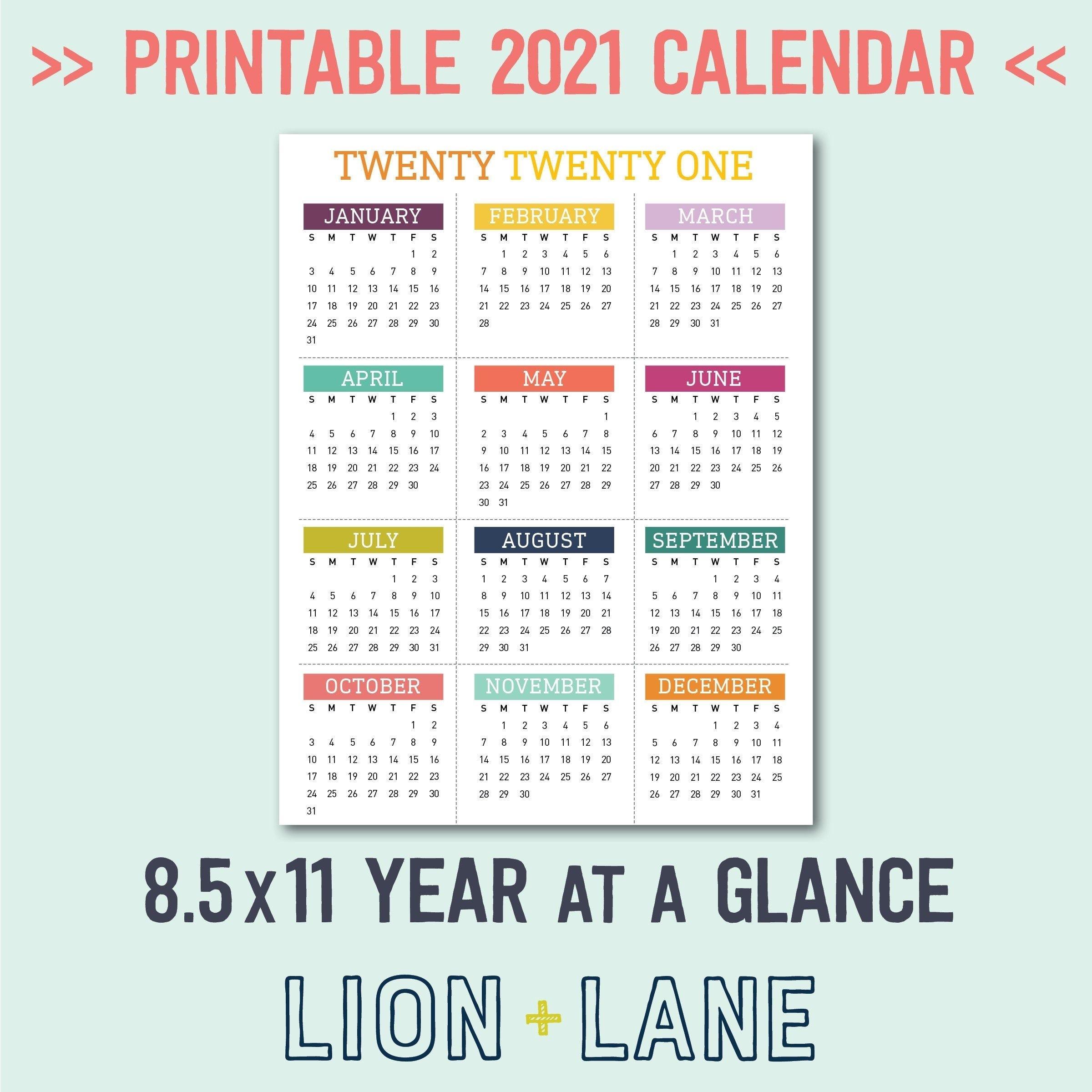 Free National Day Calendar 2021 - Calendar Inspiration Design-Printable List Of 2021 National Days