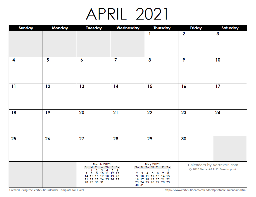 Free Printable Calendar - Printable Monthly Calendars-Free Printable Calendar 2021 4 Months Per Page May August