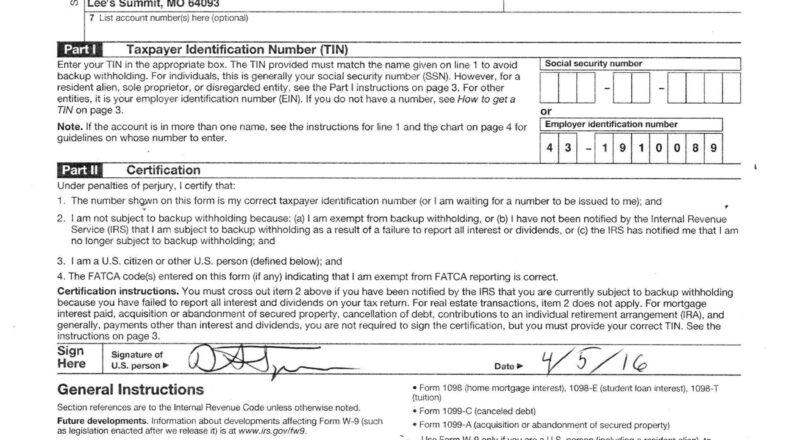 Free W9 Forms 2021 Printable Pdf | Calendar Printables-Blank W9 Form For 2021