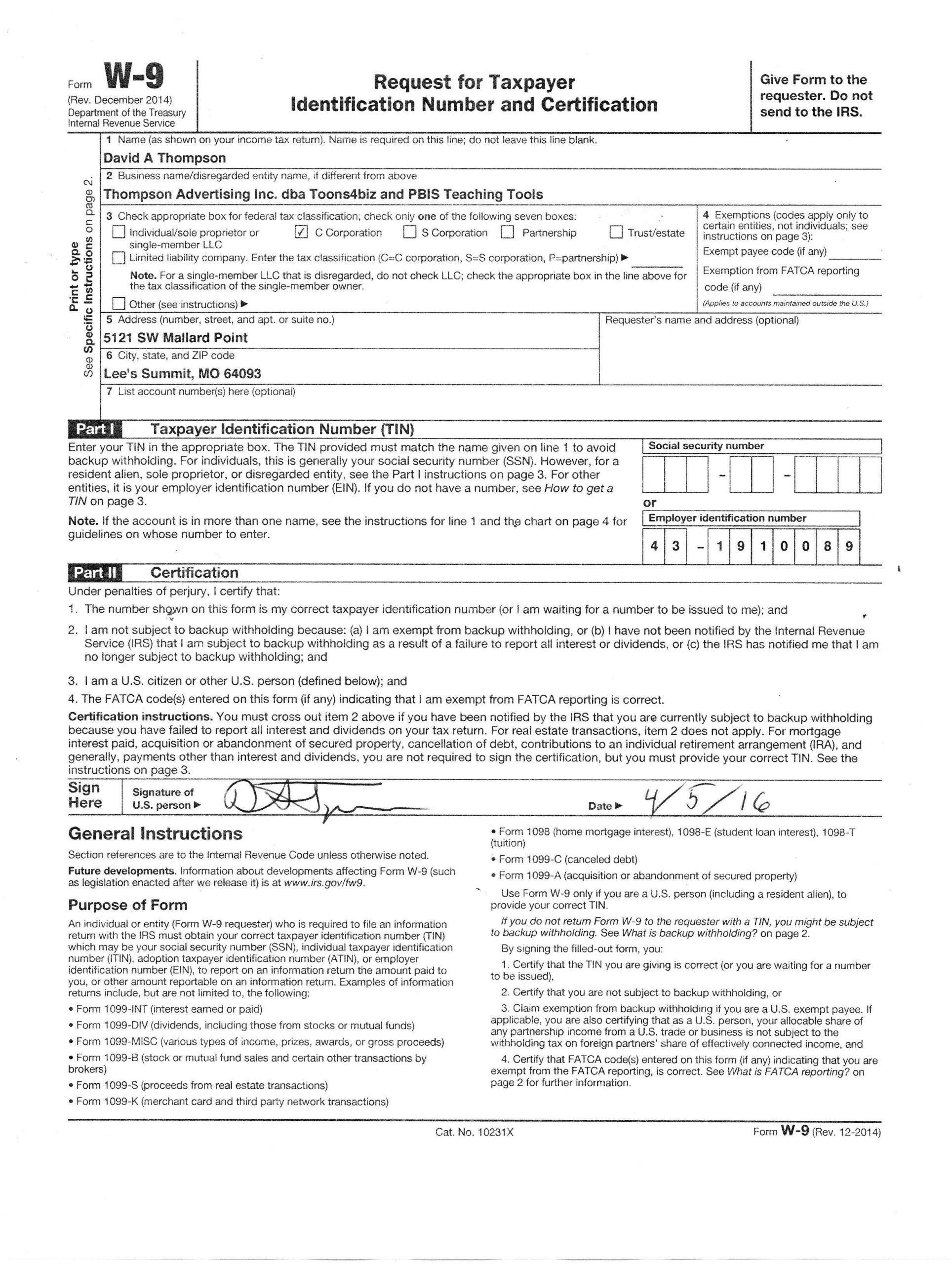 Free W9 Forms 2021 Printable Pdf   Calendar Printables-Blank W9 Form For 2021