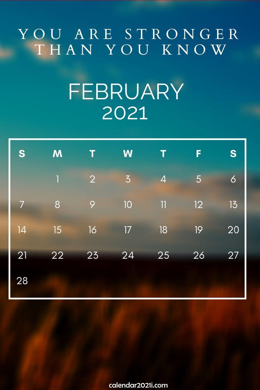 Inspiring 2021 Calendar Monthly Quotes | Calendar 2021-Monthly Calendar 2021 For Wallpaper