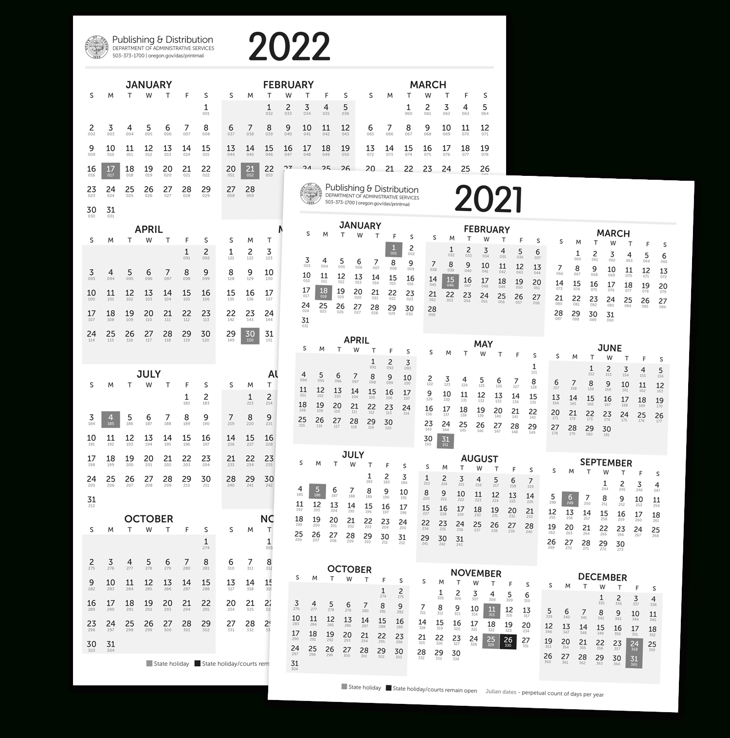 Julian Calendar For Leap Year 2021 | Printable Calendar-Julian Dates 2021