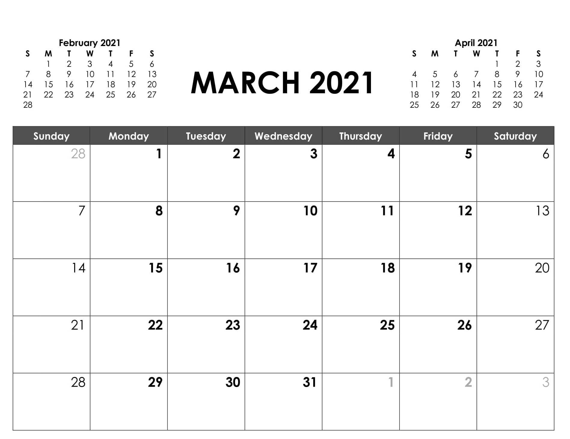 March 2021 Calendar Australia Printable   Free Printable-Printable 2021 2021 School Calendar