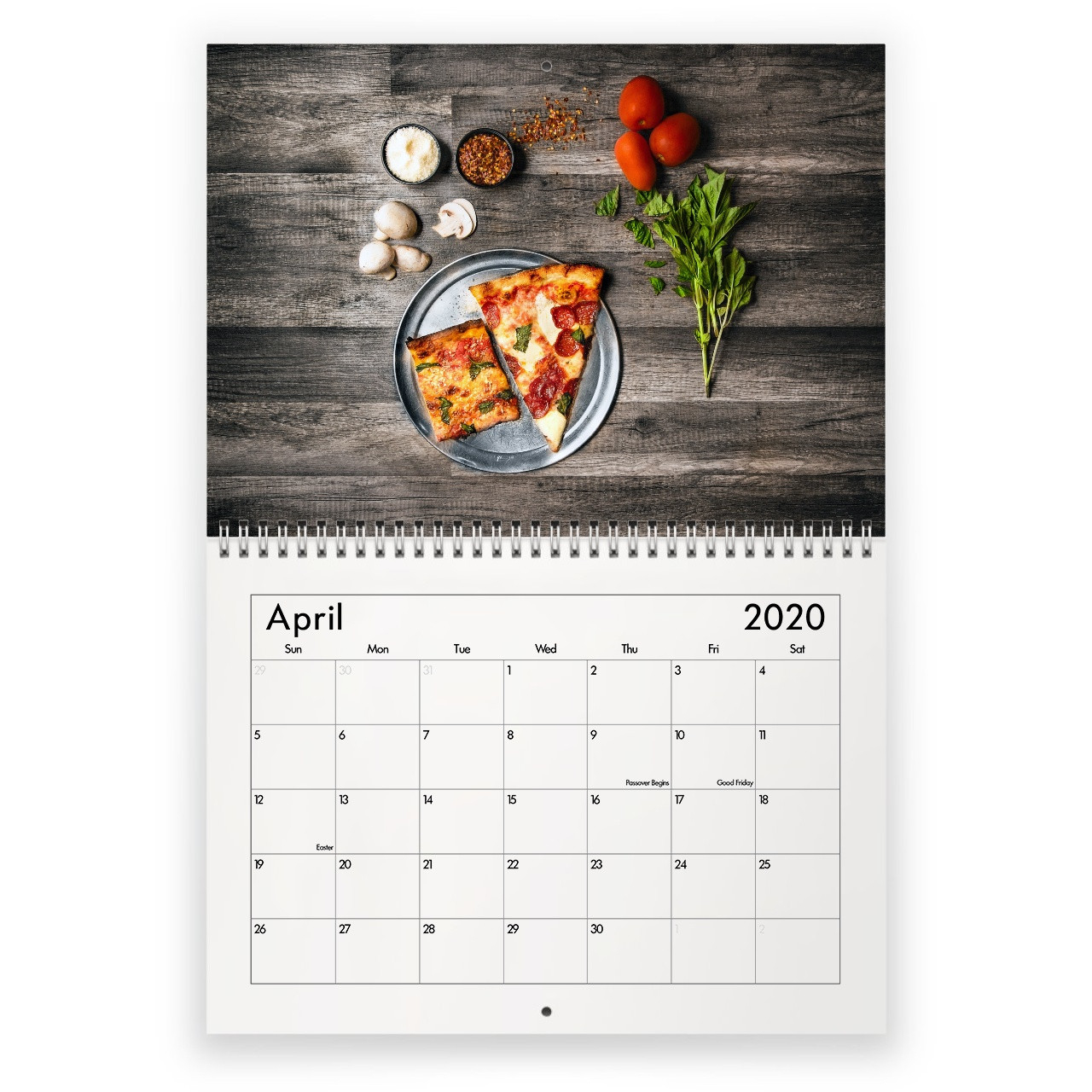 Pizza 2021 Calendar-National Food Days Calendar 2021