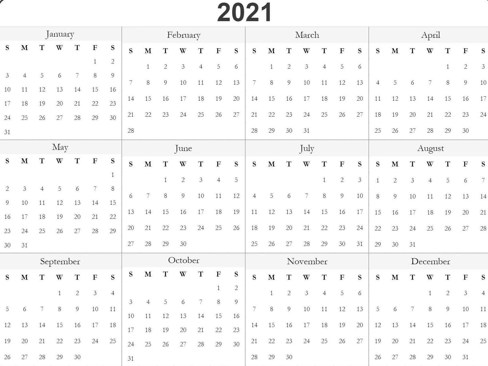 Print 2019 2020 2021 2022 2023 Calender   Calendar-Printable Bill Calendar 2021