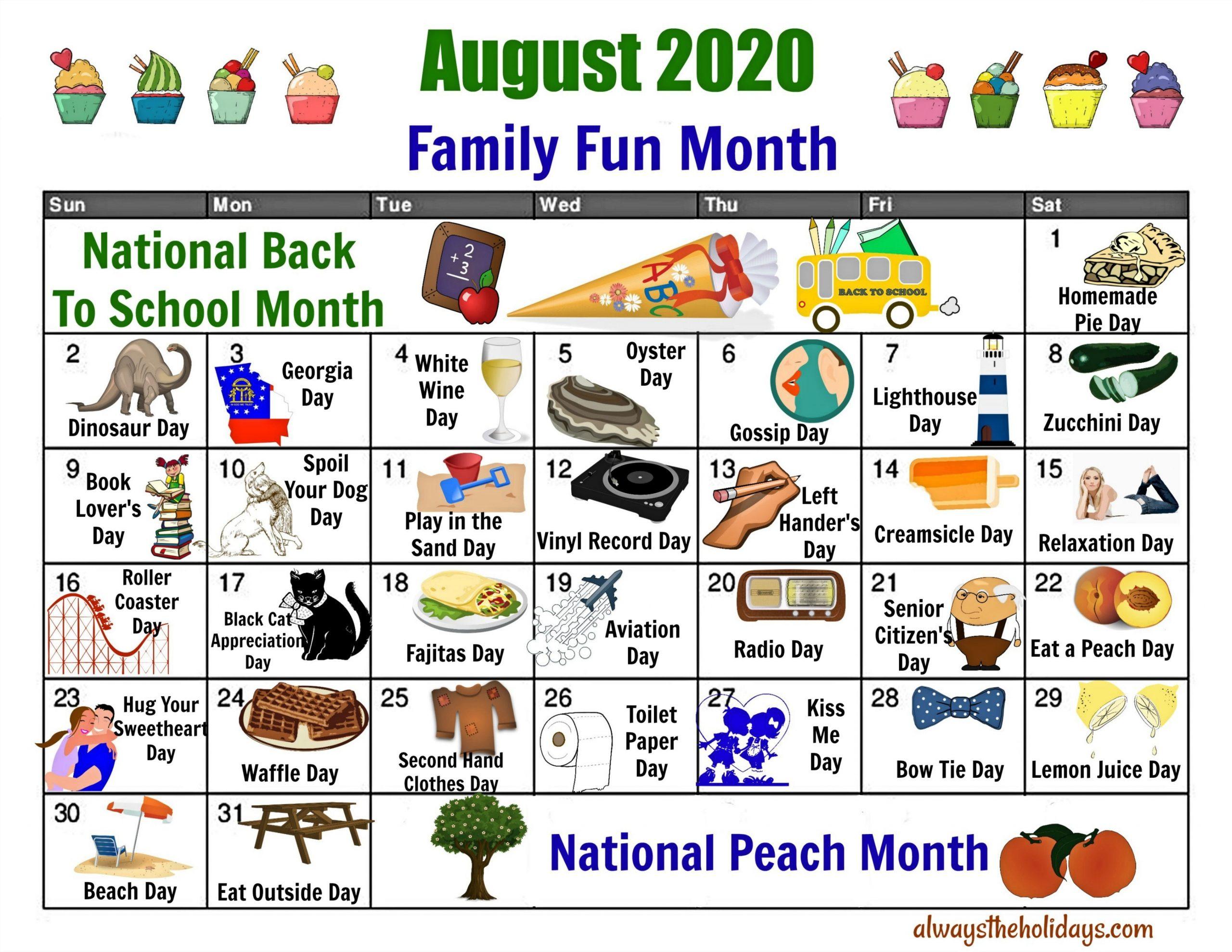 Printable List Of 2021 National Days - Calendar-National Food Days 2021