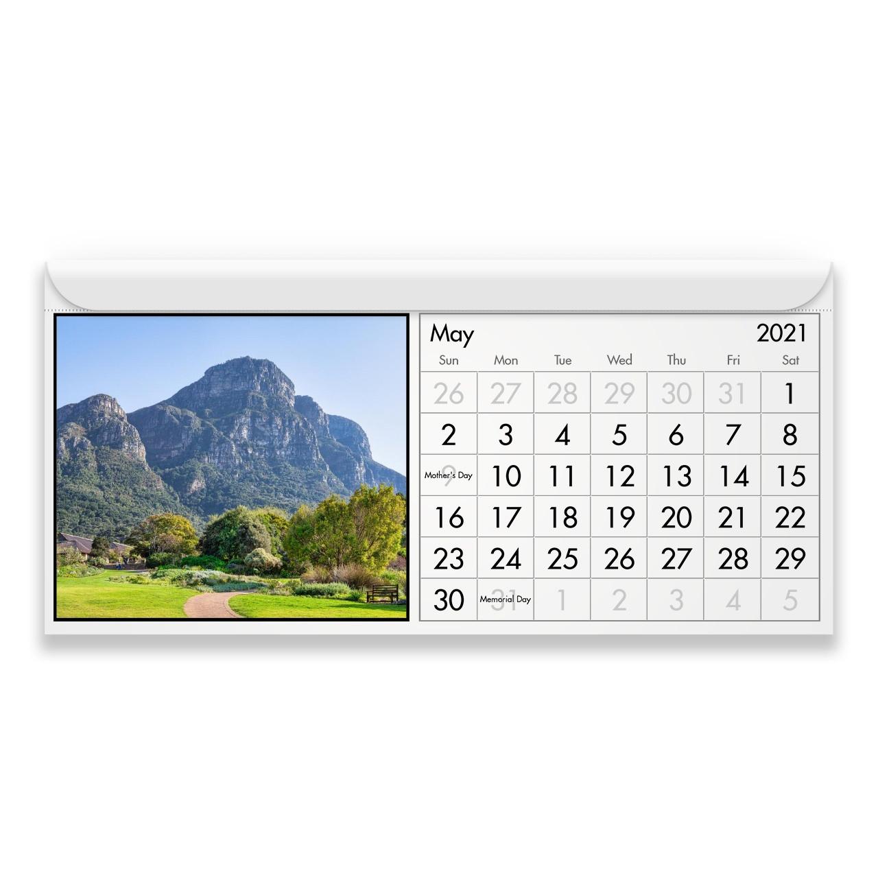 South Africa 2021 Magnetic Calendar-2021 Calendar South Africa