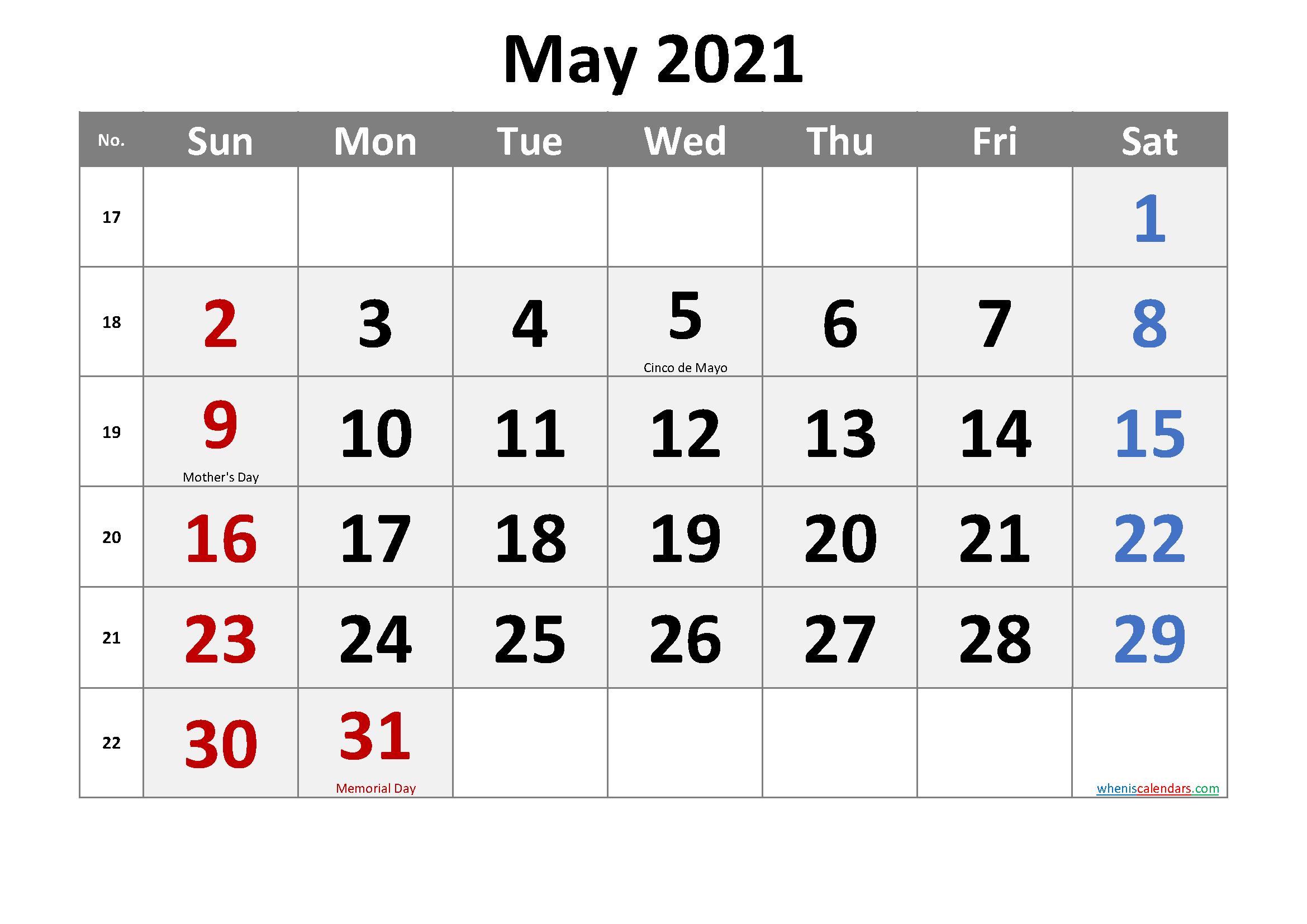 2021 Calendar Templates Editable By Word / 2021 Editable-Microsoft Word Calendar Template 2021