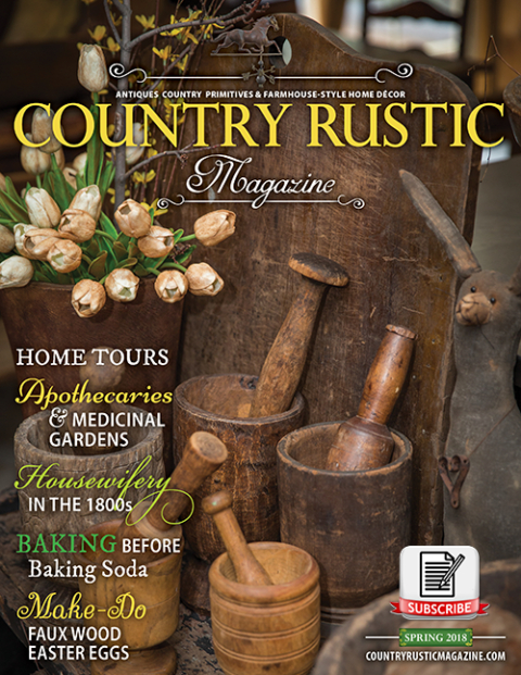 *2021* Fall Subscription - Country Rustic Magazine-2021 Mercantile Holidays