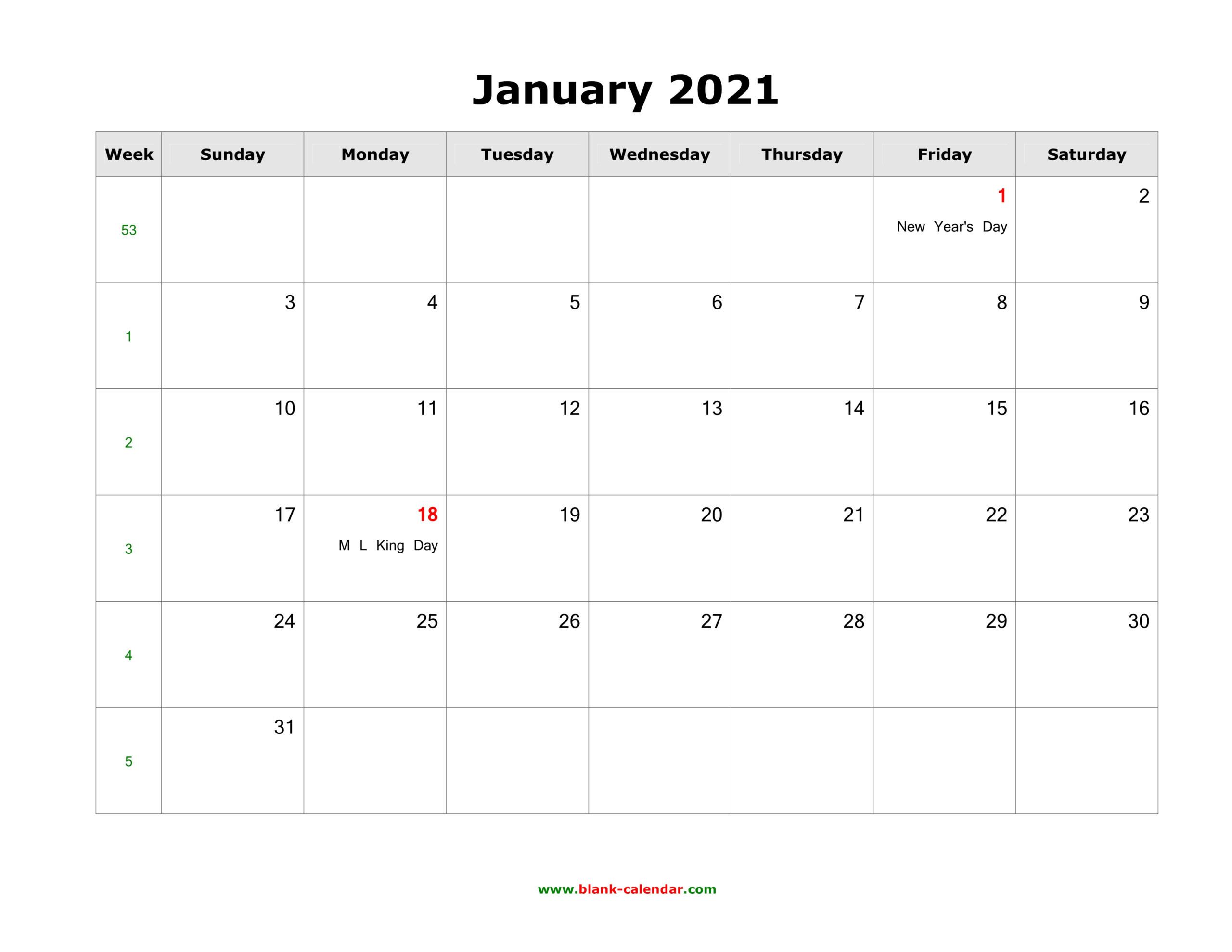 2021 Monthly Us Holidays Calendar | Printable Calendars 2021-2021 Office Vacation Calendar Examples