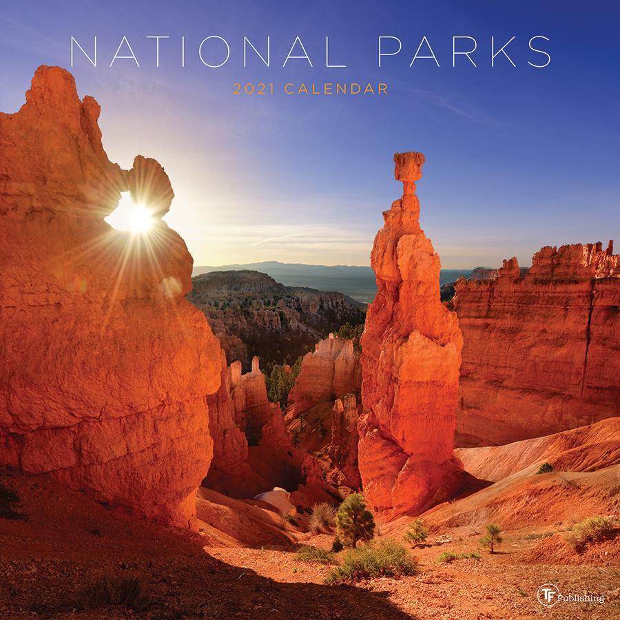 """2021 National Parks 12""""X12"""" Wall Calendar - Walmart-National Food Days 2021 Calendar"""