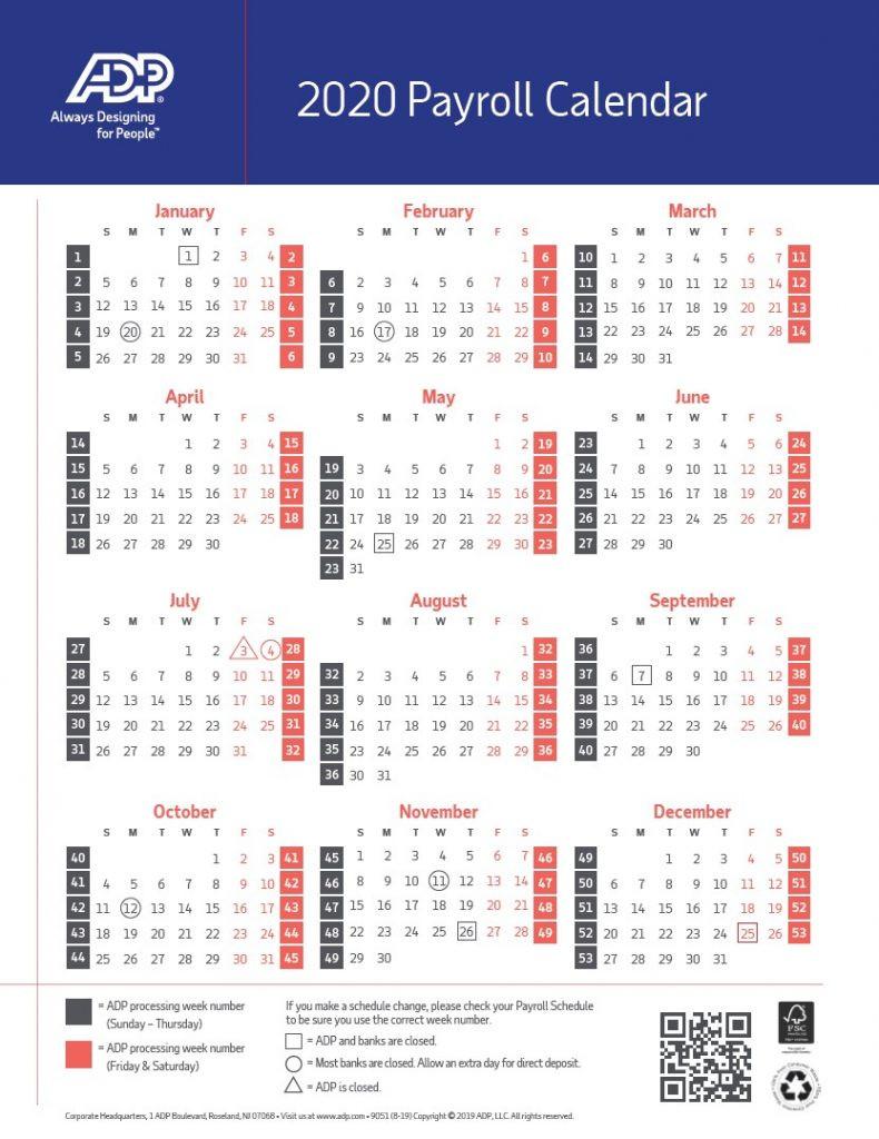 2021 Pay Periods Calendar-2021Biweekly Payroll Calendar Template