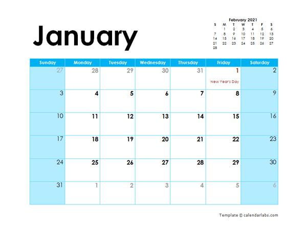 2021 Philippines Monthly Calendar Colorful Design - Free-Philippine 2021 Calendar.pdf