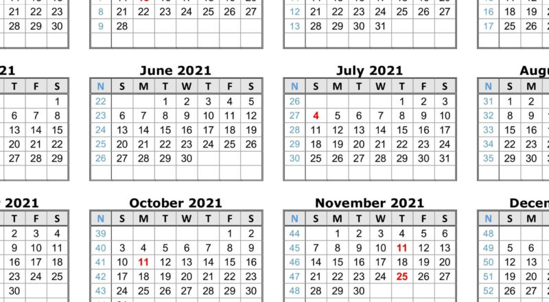 2021 Printable Calendar One Page Pdf | 2021 Printable-Free Print 2021 Calendars Without Downloading