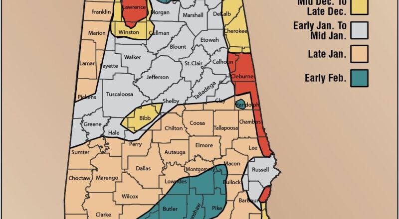Aon'S Map To The Peak Of The Rut Regarding 2021 Deer Rut-Whitetail Rutt Forcast 2021