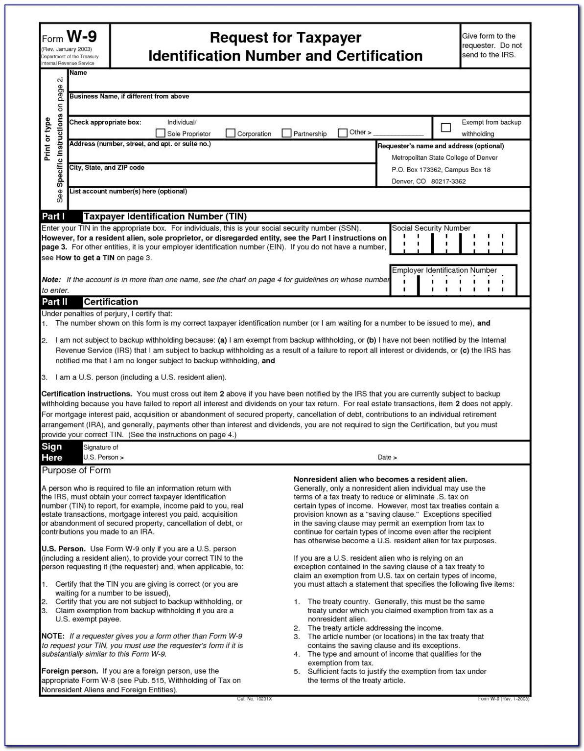 Blank W9 2020 Printable Pdf Calendar Template Printable-Blank W9 Forms 2021 Printable Pdf