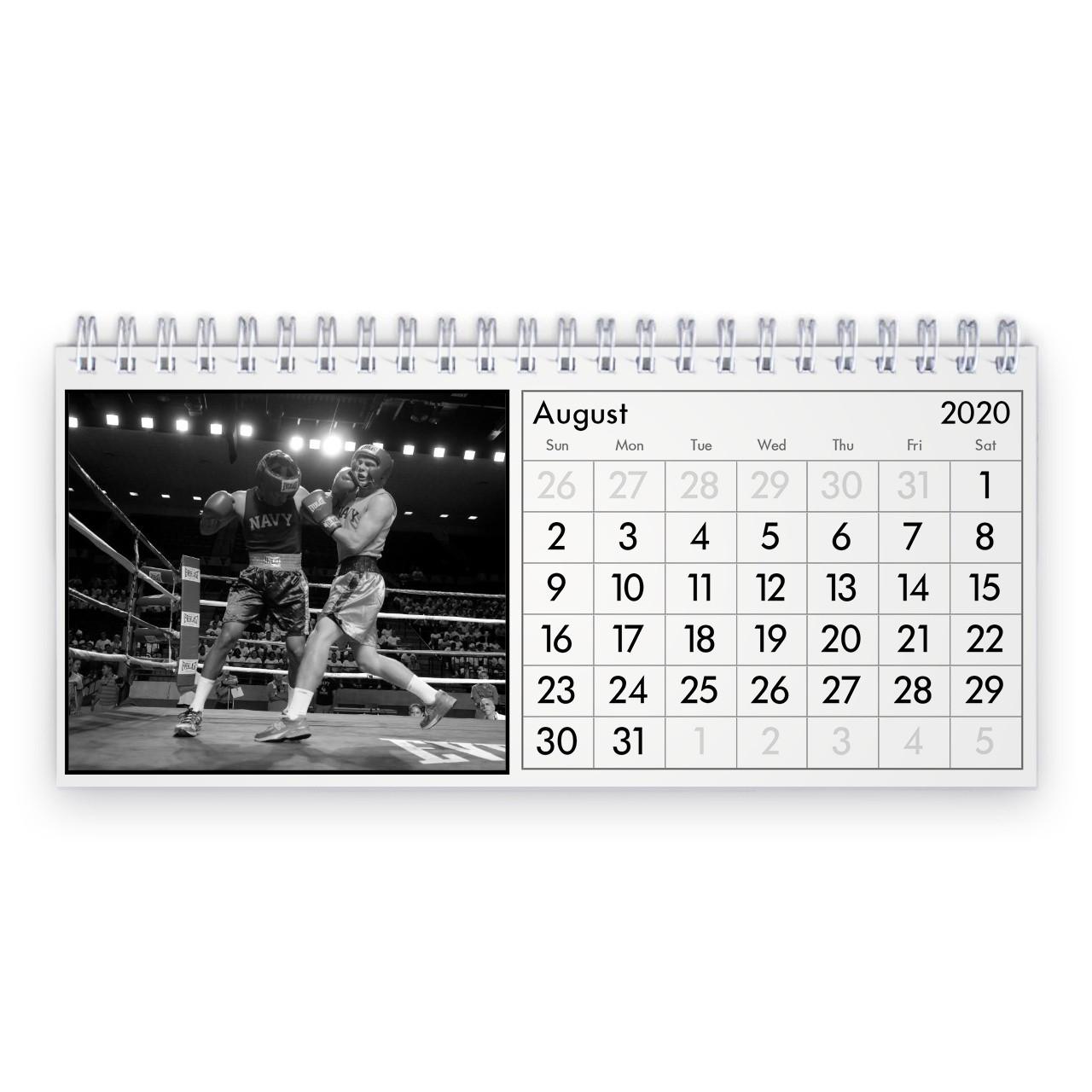 Box 2021 Desk Calendar-4 X 6 Calendars 2021